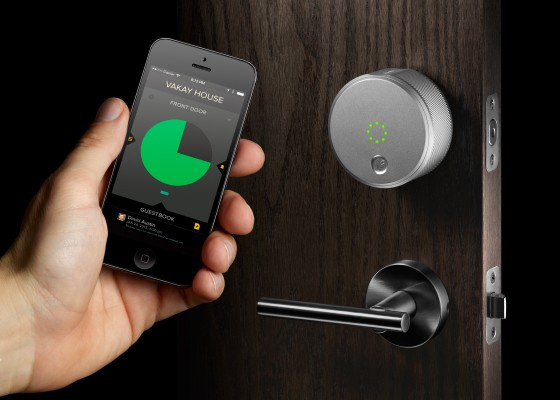 August is hoping Airbnb, Homeaway hosts will use their smart locks