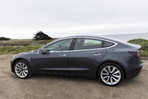 Tesla hits Model 3 production goal