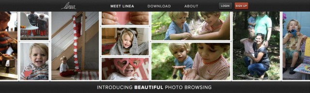 Linea Raises $4M Seed To Push Past Slideshow Photo-Browsing With Scrolling Image Mosaics