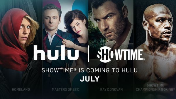 Showtime Becomes The First Premium Service To Be Offered By Hulu