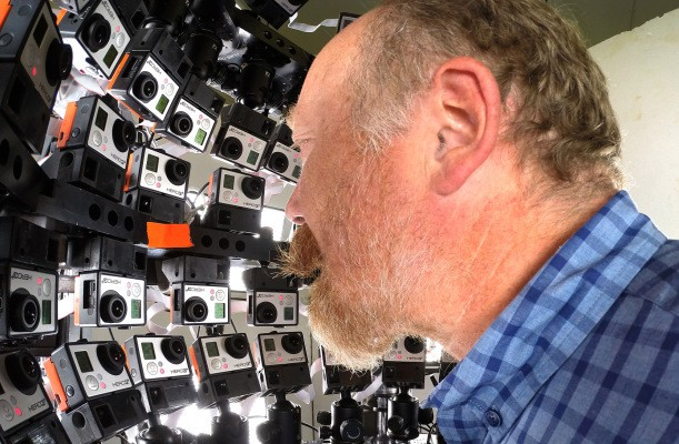 This Insane Rack Made Out Of 53 GoPros Captures 3D Movies