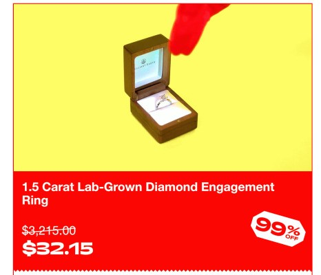 Cards Against Humanity is selling diamonds and TVs for 99% off and totally winning (?) Black Friday