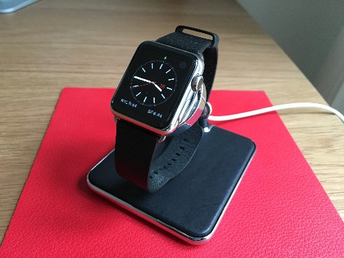 If Apple Made An Apple Watch Stand, It Would Be The Forté