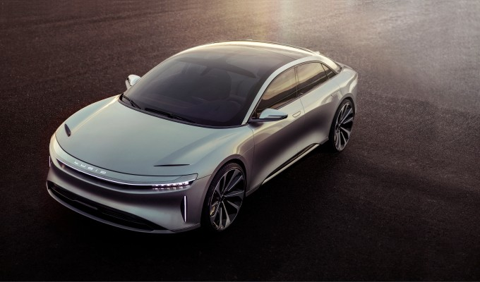 Lucid Motors unveils the Air, a new luxe electric car with a 400-mile range