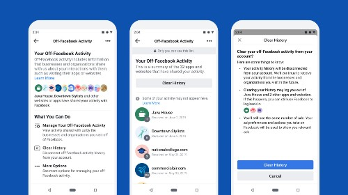 All users can now access Facebook's tool for controlling which apps and sites can share data for ad-targeting