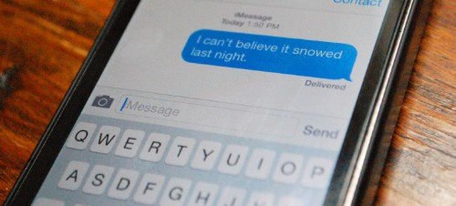 Apple's Messaging App Gets Some Filtration Muscle In New iOS 8.3 Beta