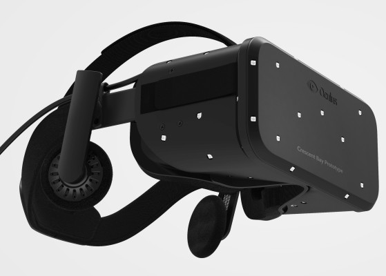 Oculus Reveals Its New Developer Kit Crescent With Faster Frame Rate And 360 Degree Tracking