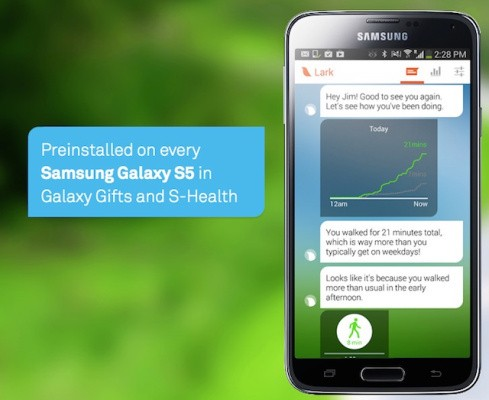 With Its New Samsung App, Health Startup Lark Moves Away From Hardware