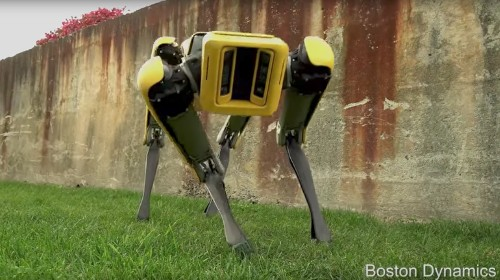 Meet Boston Dynamics' streamlined SpotMini