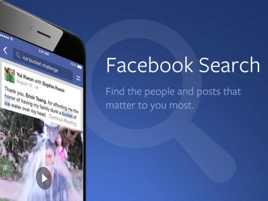 Facebook Brings Graph Search To Mobile And Lets You Find Feed Posts By Keyword