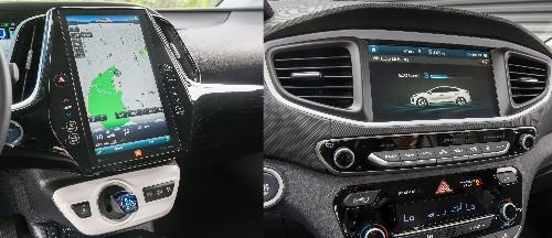 Tech War: Prius Prime vs. Hyundai Ioniq