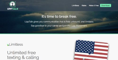 Mobile Messaging Startup UppTalk Evolves Into A Low Cost Cell Service With Launch Of UppWireless In U.S.
