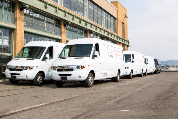 FedEx is adding 1,000 Chanje vans to electrify its fleet