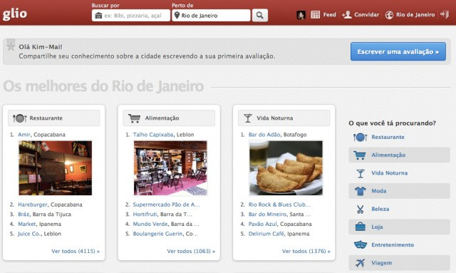 "YC-Backed Glio Aims To Be The ""Yelp of Brazil"" And Beyond in Latin America"