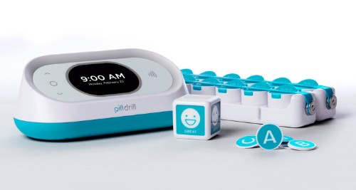 PillDrill is a home medication scanning system for keeping track of prescriptions