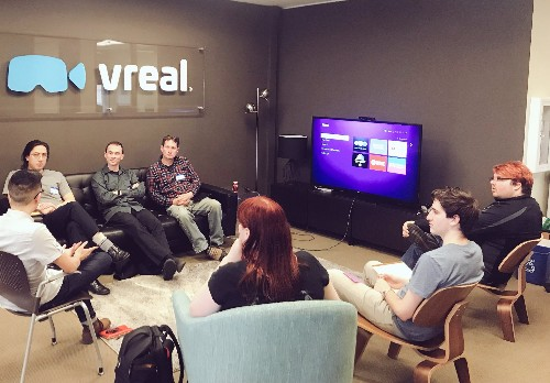 Virtual reality game-streaming platform Vreal shuts down – TechCrunch
