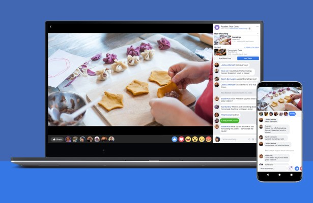 Facebook's 'Watch Party' rolls out to all, letting Groups watch videos together