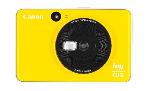 Canon takes on Fuji with new instant-print CLIQ cameras