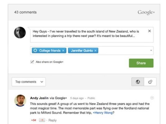Developer Brings Google+ Commenting System To WordPress A Week After Google Launches It For Blogger