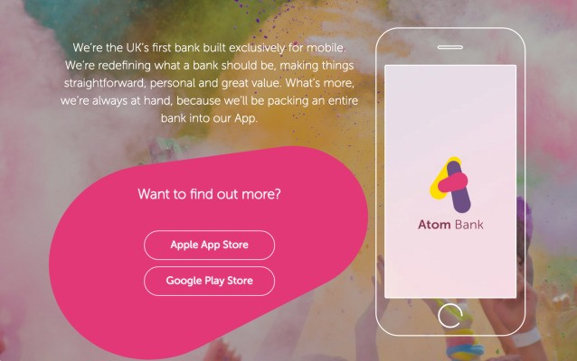 Atom Bank raises $102M at $320M valuation for a mobile-only bank for millennials