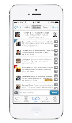 Tawkers Launches An App For Publishing Your Texts
