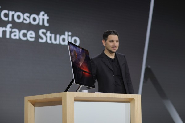 This is the Surface Studio, Microsoft's new all-in-one PC