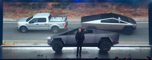 Ford VP challenges Tesla to a fair F-150 vs Cybertruck tow battle