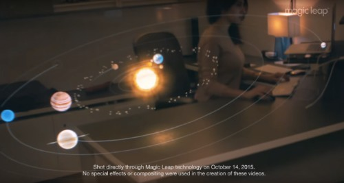 Magic Leap Releases Raw Footage Created With Its Augmented Reality Tech