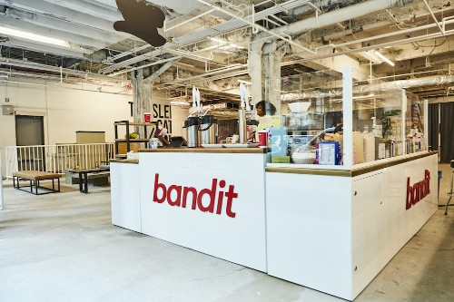 Bandit opens a 'mobile-only' coffee shop in New York