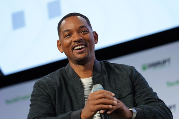 Will Smith just dropped $10K on a startup that pitched him onstage at Disrupt