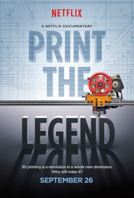 Join Us For A Screening Of Print The Legend, A Movie About Makerbot And Formlabs, On Sunday