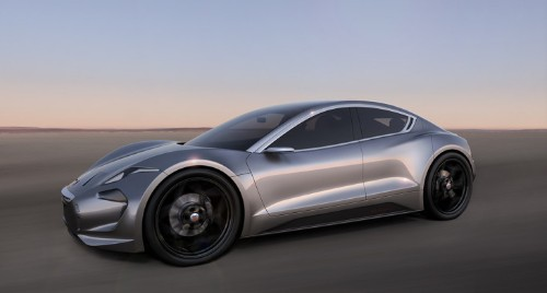 Here's Fisker Inc's first car, the all-electric EMotion luxury sport sedan