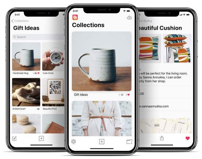 Collectionsは使いやすい写真メモアプリ