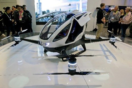 EHang reveals plans to deploy its passenger drones for emergency organ deliveries