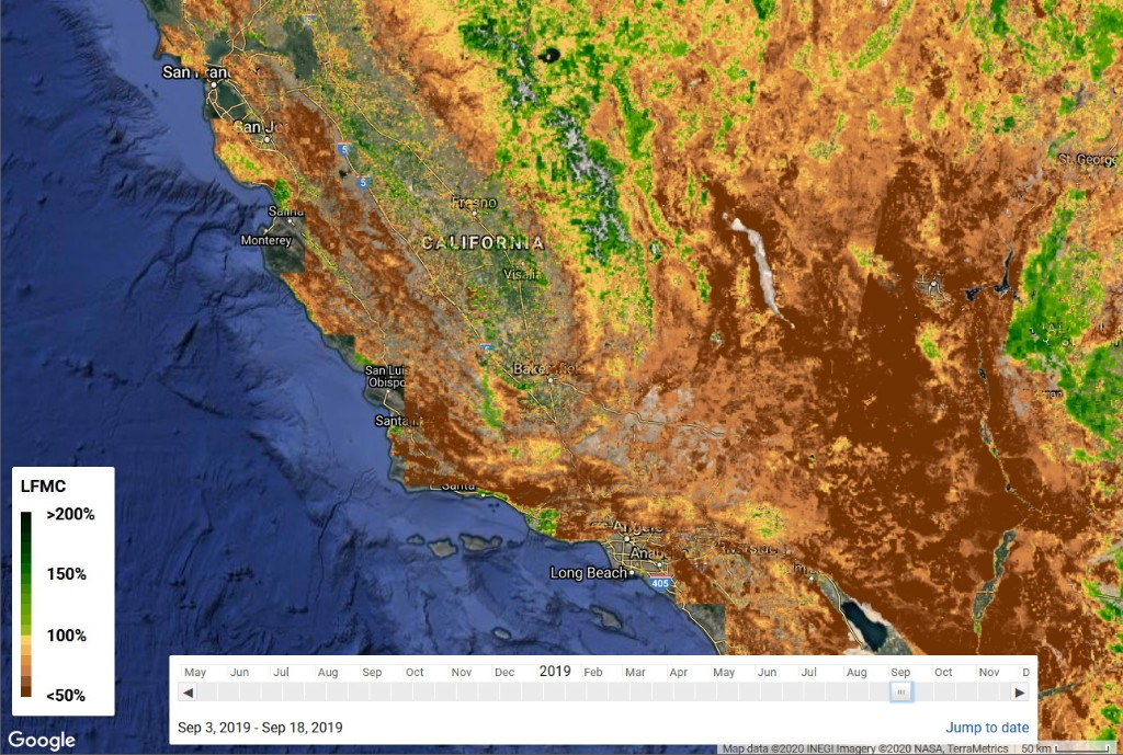 As wildfire season approaches, AI could pinpoint risky regions using satellite imagery