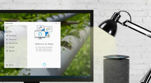 Amazon launches Alexa app for Windows 10 PCs