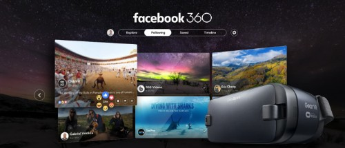 Facebook debuts its first dedicated virtual reality app, Facebook 360