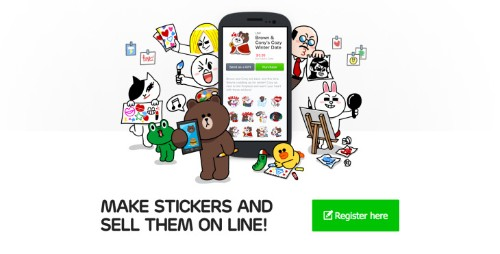 Chat App Line's User-Generated Sticker Program Nets $30M In Its First Six Months