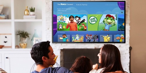 Roku launches a Kids & Family section on The Roku Channel, plus parental controls