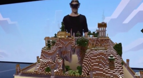 Microsoft Reveals Dedicated Version Of Minecraft For HoloLens