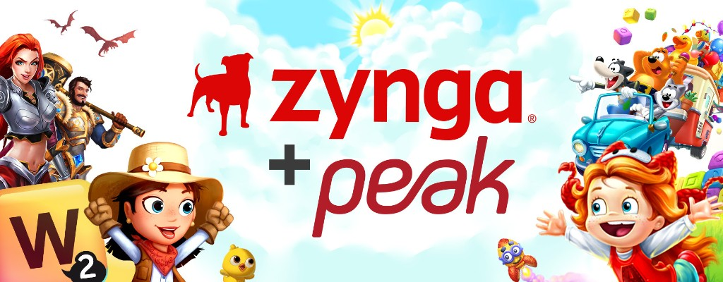Zynga acquires Turkey's Peak Games for $1.8B, after buying its card games studio for $100M in 2017