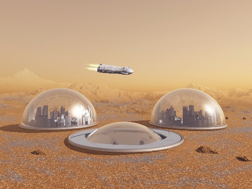 Space exploration will spur transhumanism and mitigate existential risk
