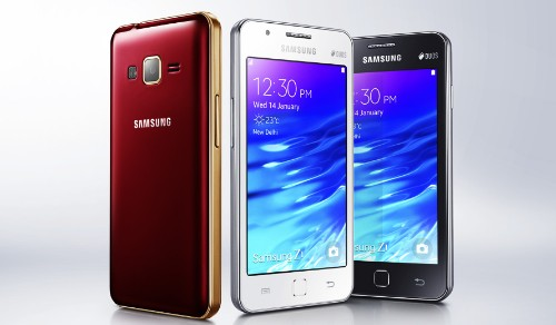 Samsung Launches Its First Tizen-Powered Phone, The Z1, In India For $92
