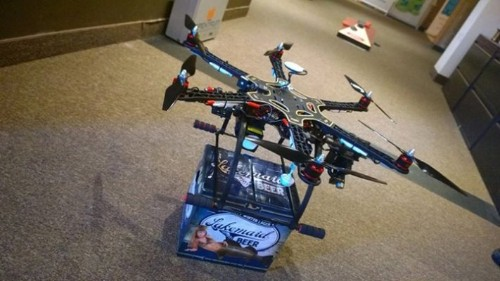 The FAA Shuts Down Beer-Delivery Drone