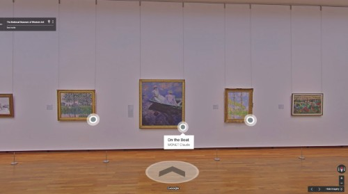 Google rolls out enhanced art search results, including digital museum guides on Street View