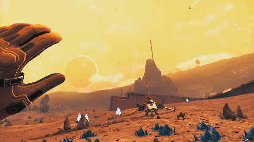 No Man's Sky's next update will let you explore infinite space in virtual reality