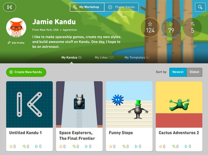Kandu Teaches Kids How To Make iPad Apps, No Coding Required