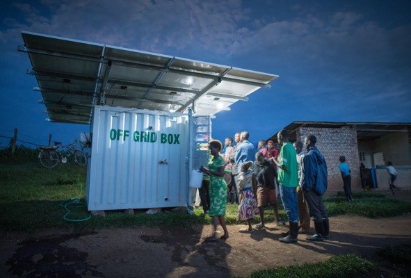 OffGridBox raises $1.6M to charge and hydrate rural Africa with its all-in-one installations