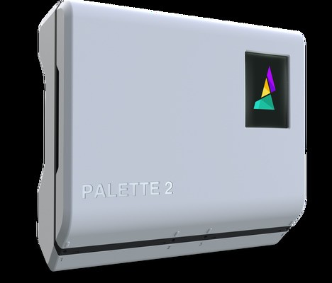 The Palette 2 lets any 3D printer output color