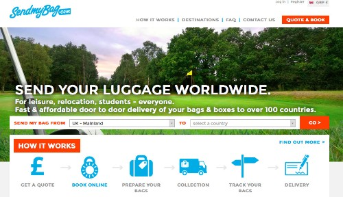 SendMyBag Arrives In The U.S. To Take Your Luggage When Airlines Won't